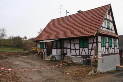 Maison alsacienne à rénover