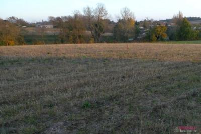 Exclusivité - terrain viabilisé – orientation sud Belberaud