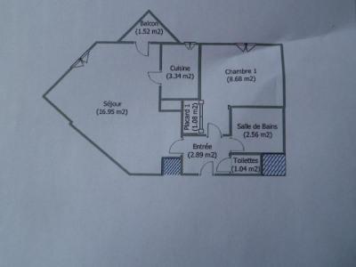 F2 36,54m² + Parking Dans Résidence prisée donnant sur Parc des Coquibus, Bel Appartement F2 situé au 1er ...