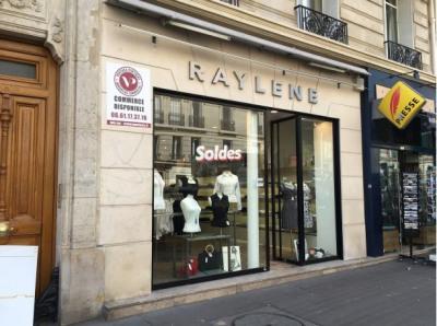 Fonds de commerce Prêt-à-porter-Textile Paris 6ème