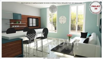 APPARTEMENT RECENT TONNERRE - 2 pièce(s) - 37.88 m2