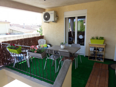 Appartement T3 avec terrasse et parking