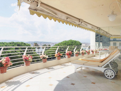 Cannes Croisette Appartement Etage élevé Vue Mer Cannes