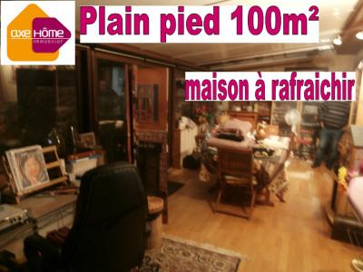 Maison plain pied 100m² 3 chambres