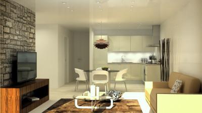 Appartement type 2 cabine en duplex