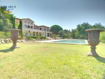Très grande et belle villa Vue Golf de Beauvallon + terrain