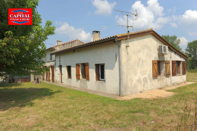 Maison à 10 min de Pugnac - 5 pièce (s) - 130 m² À 10 Min de Pugnac