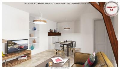APPARTEMENT AUXERRE - 3 pièce(s) - 55 m2