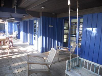 Andernos front de mer, magnifique maison d'architecte en bois composée à l'étage d'un espace à vivre vue  ...