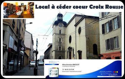 Vente Local commercial Lyon 4ème