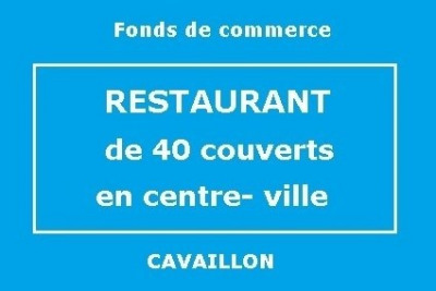 Fonds de commerce Café - Hôtel - Restaurant Cavaillon