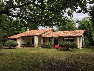 ANDERNOS, EXCLUSIVITÉ: secteur calme et résidentiel, maison entièrement de plain pied en excellent état,  ...