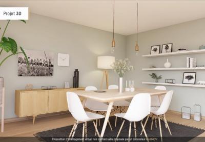 T3 toulon - 3 pièce (s) - 62 m²