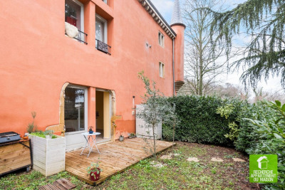 Collonges au mont d'or T3 59 m² jardin