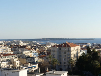 Cannes Centre/Petit-Juas Vue mer panoramique Cannes