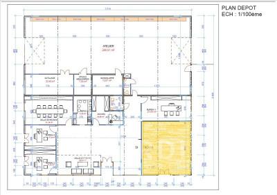 Bureau auxerre - 50 m²