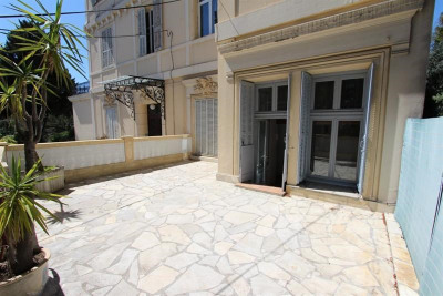 3 pièces terrasse Hôtel Particulier - Proche Mer - Musée Chéret
