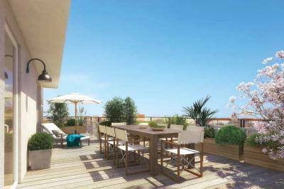 Appartement 5 pièces grande terrasse Villeurbanne