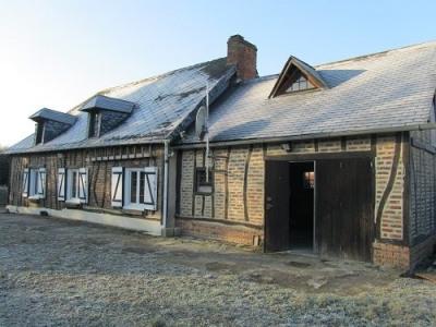 Maison cheminée 2 chambres sur 995m² de terrain