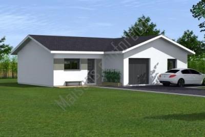Maison  4 pièces + Terrain 700 m² Pontonx-sur-l'Adour par MAISONS CONFORECO - AGENCE MONT DE MARSAN