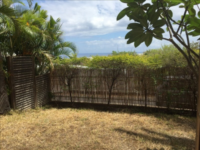 T4 avec jardin vue mer