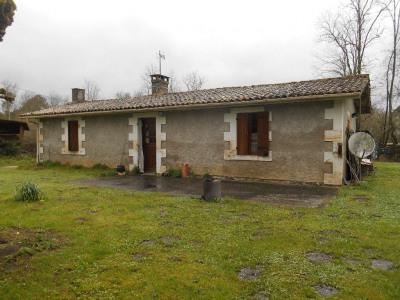 Maison ancienne de 71m² + grange sur 1583m²