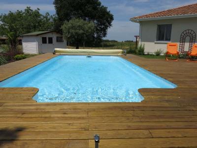 Maison piscine chauffée