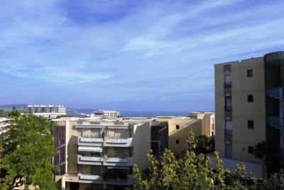 Nice Fabron - 4 pièces dernier étage vue mer - 489 000 Euros