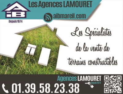 ORGEVAL 818m² (divisible)