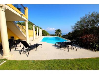 Nice superbe villa prestige vue mer piscine 7 cham