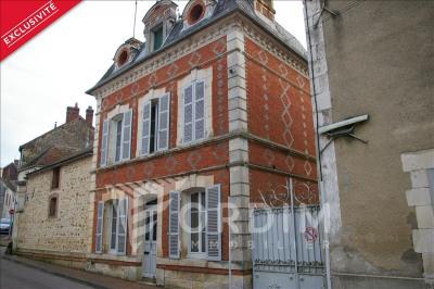 Maison ancienne st sauveur en puisaye - 3 pièce (s) - 72 m²