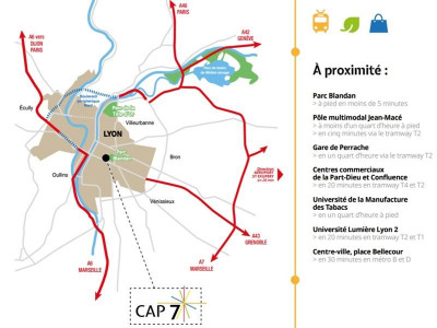 Vente neuf programme Lyon 7ème (69007)