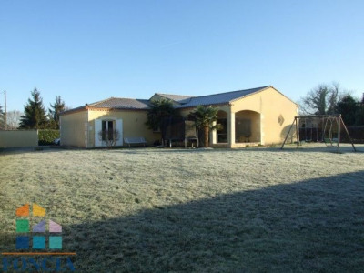 Plain pied de 171 m² + 50 m² garage