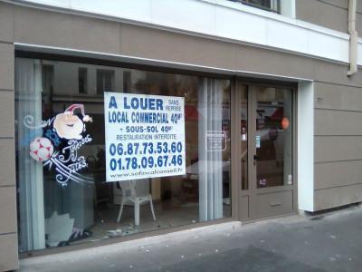 Location Boutique Courbevoie