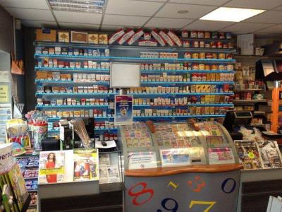 Commerce tabac presse