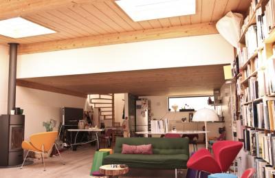 Loft avec terrasse au calme d'une impasse