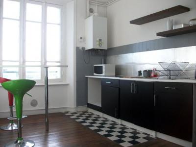 Brest centre - T3 meublé