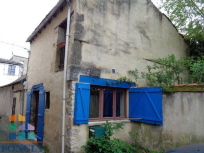Quartier de la madeleine échoppe sur 2 niveaux de 55 m²