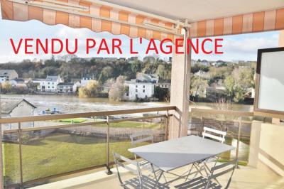 Appartement avec terrasse et garage vue Mayenne