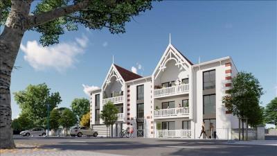 Andernos, situation proche commerces et plage. Venez découvrir votre appartement neuf: De type T2, offran ...