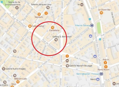 Location Boutique Paris 3ème