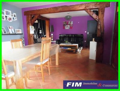 Maison 10 mn de Eu 3 chambres 1780 m² de terrain