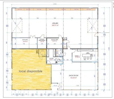 Bureau auxerre - 120 m²