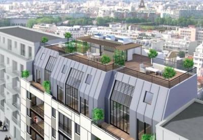 Rue Villa Thoreton Paris