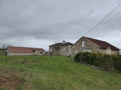 Farm building 4 rooms Serignac