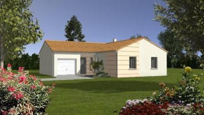 Maison  4 pièces + Terrain 625 m² Luçon par LOGIS DE VENDEE