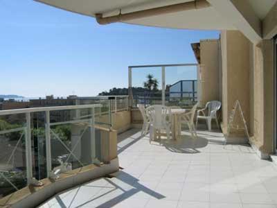 Location vacances appartement Cavalaire 420€ - Photo 7