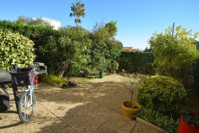 Antibes roi soleil, appartement 3 pièces en rez-de-jardin