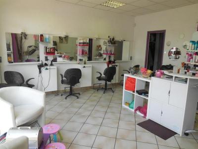 Fonds de commerce salon de coiffure