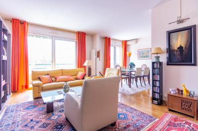 Boulogne - RUE DU CHEMIN VERT. Situé en étage élevé d'une résidence de bon standing, sécurisée avec gardi ...